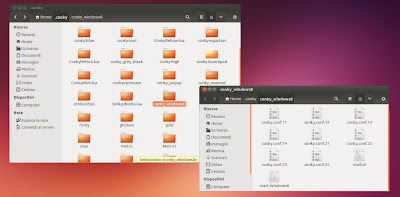 ConkyGUI Configurazione
