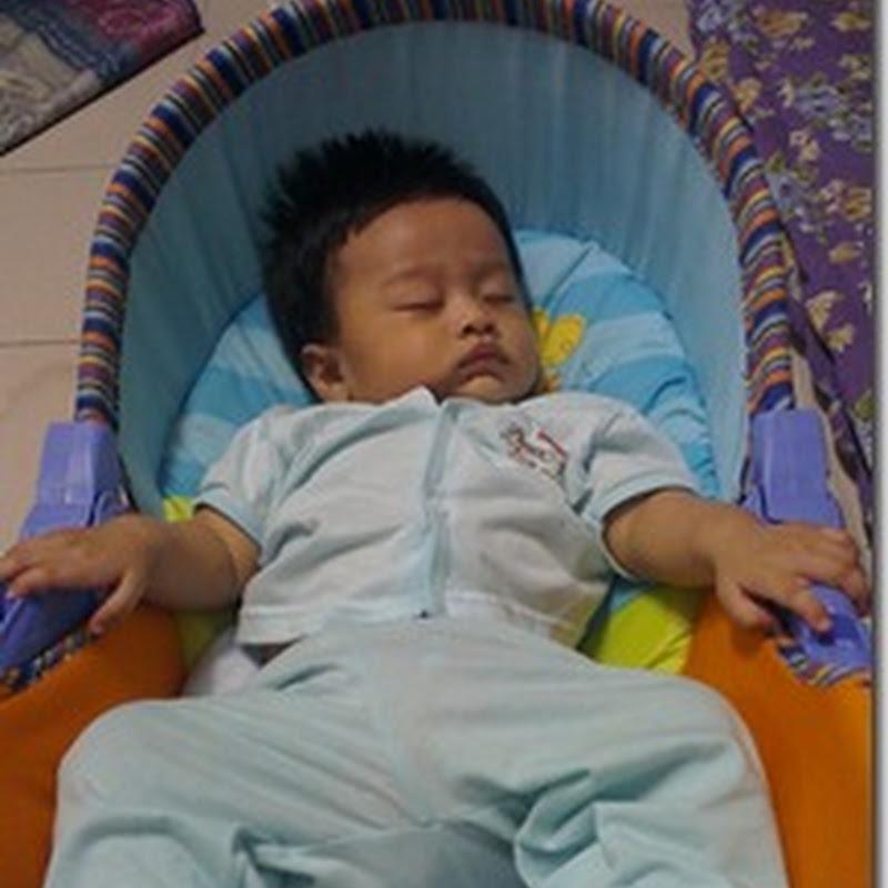 Tidur jugak akhirnya Qhaliff ..