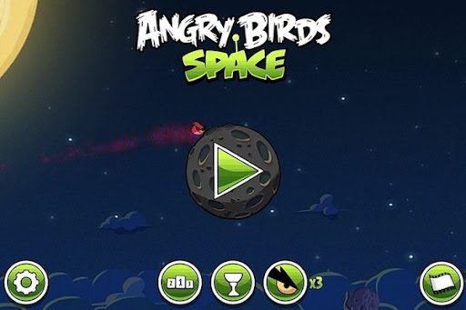 Angry Birds Space para Windows Phone