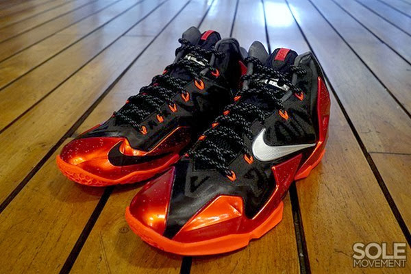 Release Reminder Nike LeBron XI 11 Miami Heat Away