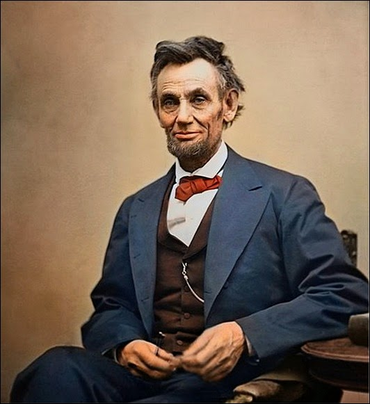 Lincoln-Colorized