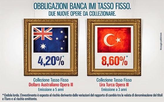obbligazioni imi lire turche