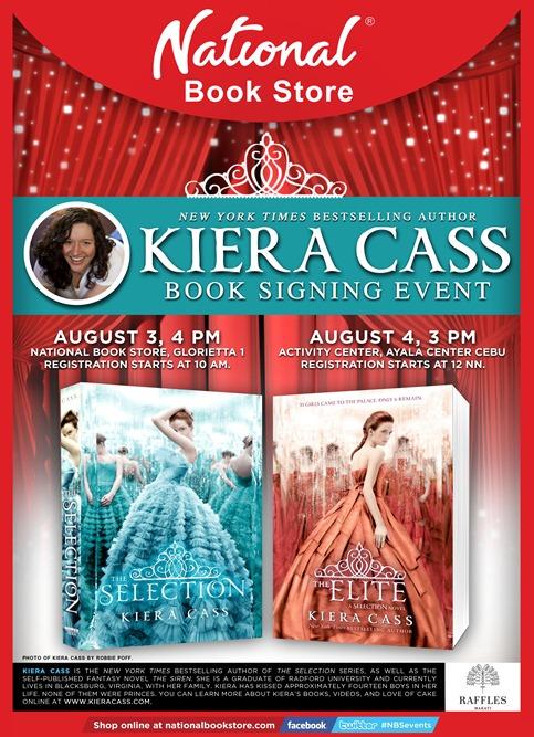 Poster - Kiera Cass V3