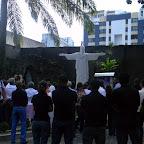 Inauguração da réplica da imagem do Cristo Redentor