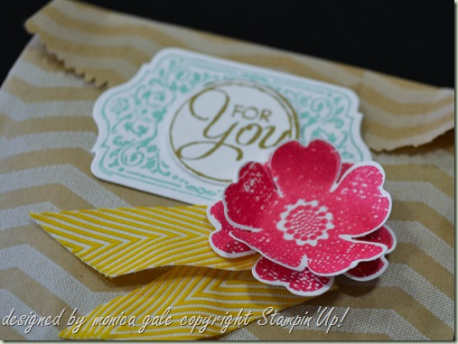 Stampin'Up! Flower Shop, Happy Day, Chalk Talk bag
