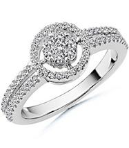 Round Diamond Designer Ring