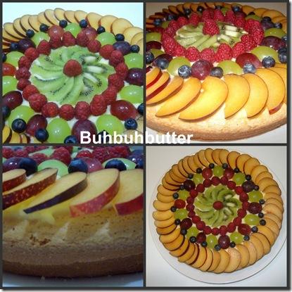 Torta di frutta collage 2