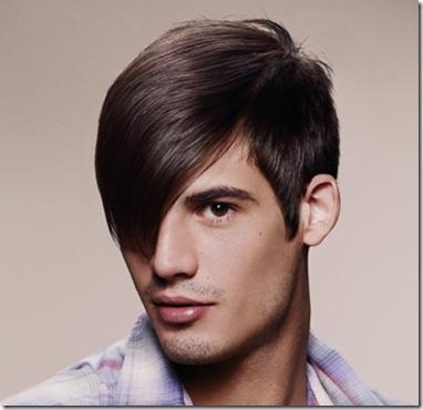 peinado de hombre estilo vintage con flequillo 2011