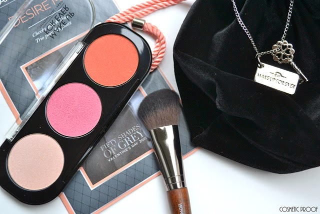 MAKE UP FOR EVER 50 Shades of Grey Desire Me Cheeky Blush Trio Review Swatches (2)