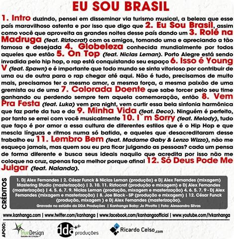 Kanhanga - Eu Sou Brasil - Verso