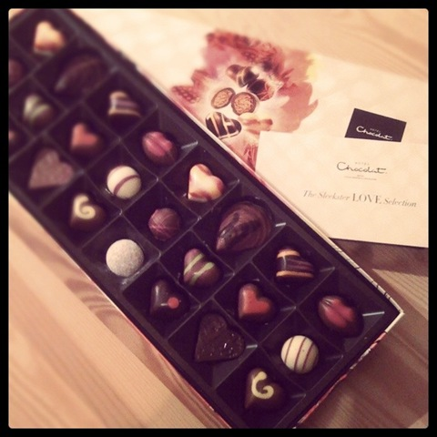 Hotel Chocolat Sleekster Love Selection