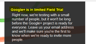 Google Plus in final phase