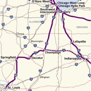 Proposed high-speed rail lines
