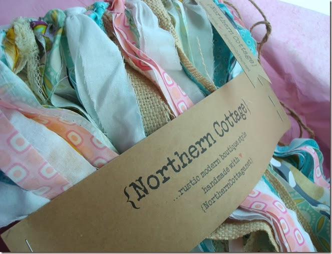 {Northern Cottage} packaged custom banner