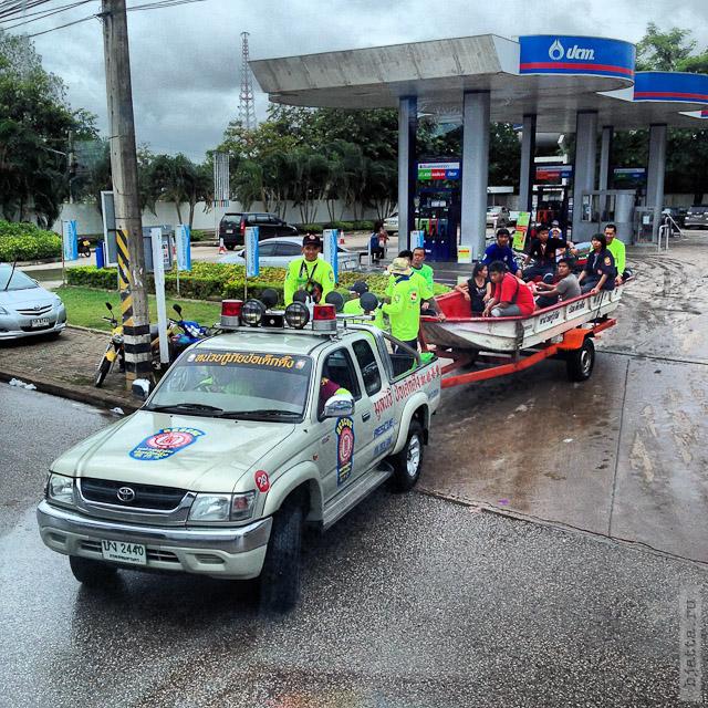 4. Сезон дождей. Таиланд 2555. Thailand