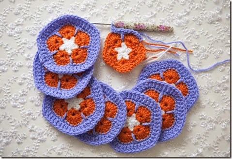 Crochet pentagons7