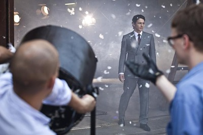 James Franco for Gucci Made-to-Measure F/W 2011 campaign.  Photography by Nathaniel Goldberg.