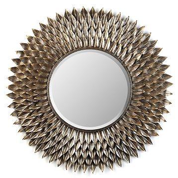 chloe floral mirror