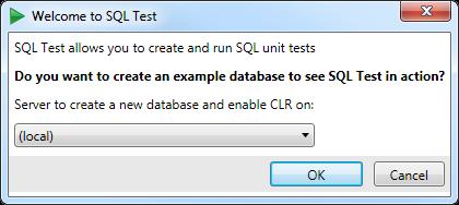 Setting up SQL Test