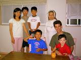 Visiting with the Akasaka Family
