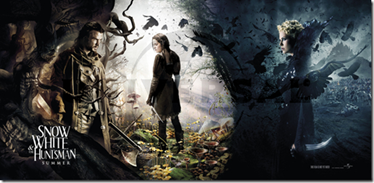 Banner snow white & huntsman