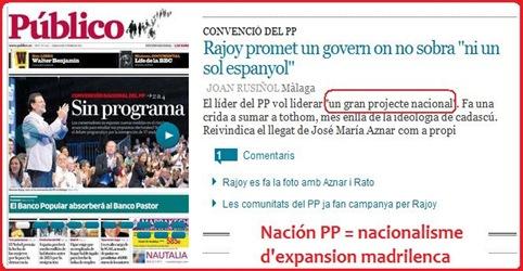 Progrmaa de Rajoy en 2011