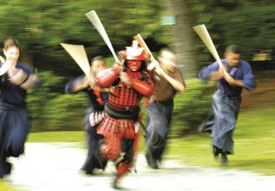 Festa de 20 anos do Kenjutsu no Brasil
