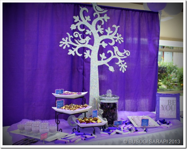 SIMPLE PURPLE DESSERT TABLE© BUSOG! SARAP! 2013