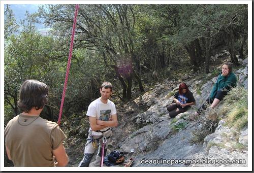 Escalada en Las Cabadas (Arenas de Cabrales, Asturias) (Ade) 5177