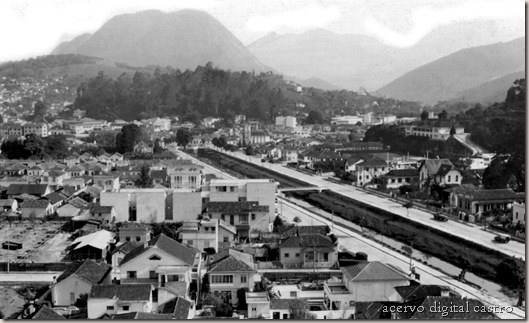 Rio Bengalas Vista parcial 1960