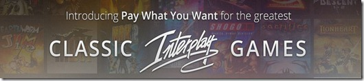 Gog Interplay pay what you want