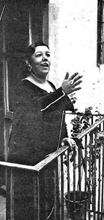 Pastora (saeta) Estampa 14-5-1932
