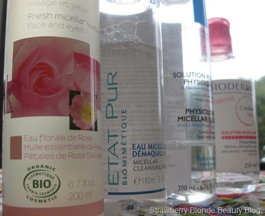 Micellar Water Melvita, La Roche Posay, Etat Pur & Bioderma H20