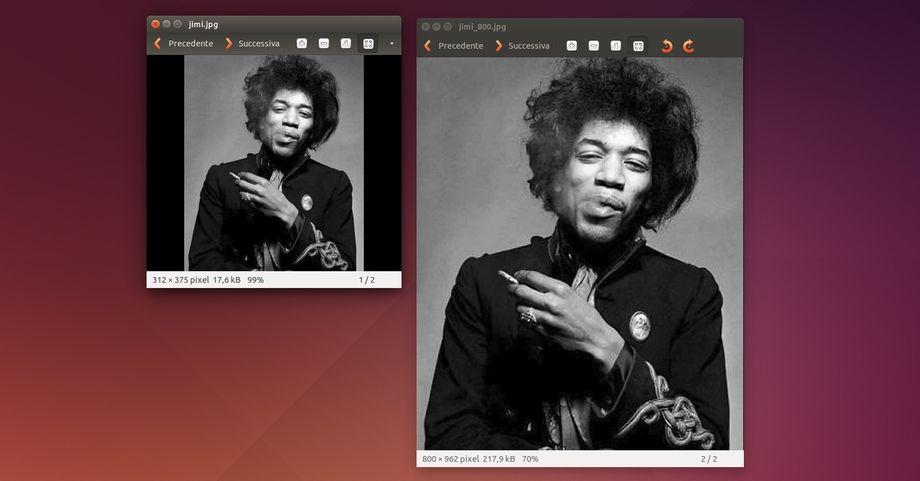 GIMP foto ingrandite senza perdita di qualità