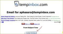 อีเมล์ชั่วคราวด้วย tempinbox