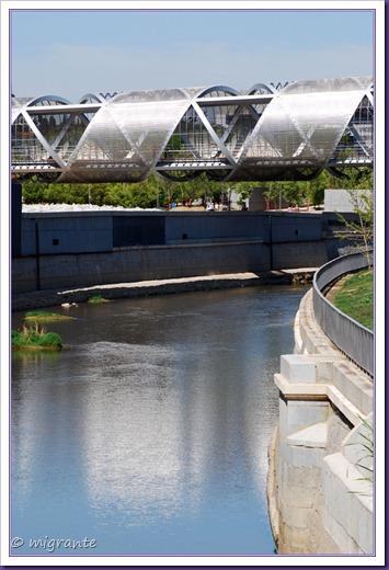 puente monumental de arganzuela - sector sobre el río