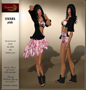 DANIELLE Amara Pink