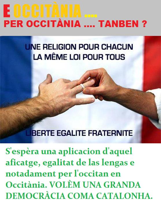 Egalitat per l'occitan tanben