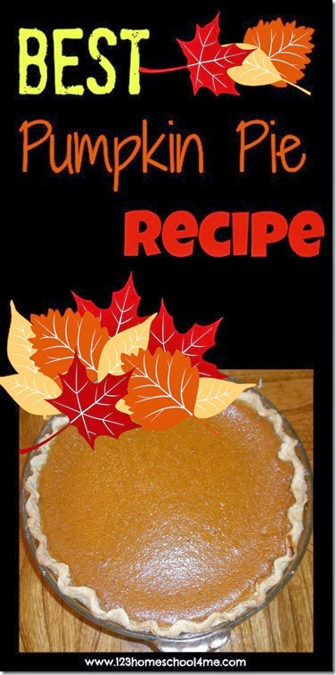 best pumpkin pie recipe for thanksgiving