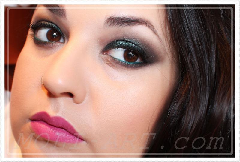 maquillaje-para-fiestas-2014-tonos-verdes