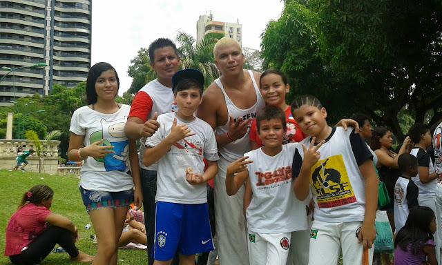 Festa da capoeira em Belém