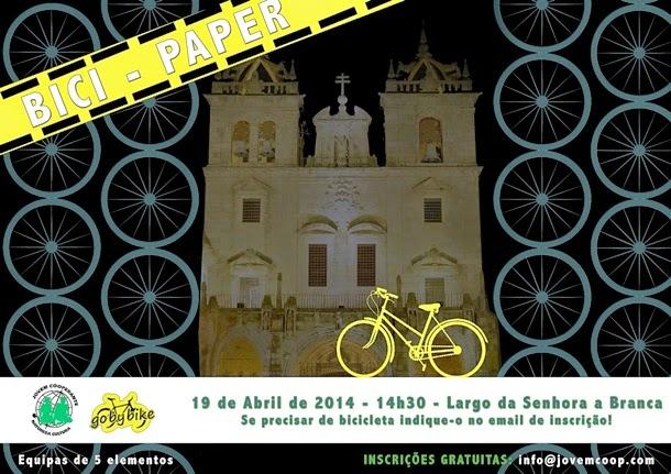 Bici-Paper - Vamos pedalar na cidade de Braga