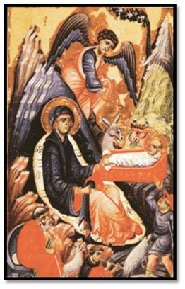 """Miniatura del """"Epistolario"""", de Giovanni Gaibanas, del siglo XIII"""