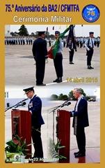 75.º Aniv. BA2-CFMTFA - Cerimonia Militar - 14.04.2015