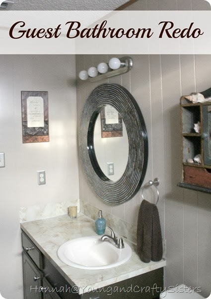 Guest Bathroom Redo