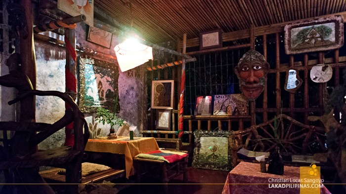 The Living Room cum Restaurant cum Art Gallery at Goodtimes Cafe