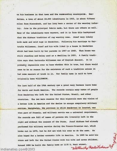 Niehaus Story, pg 2