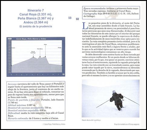 Pico de Canal Roya, Peña Blanca y Aneu 1 (Manuel Lopez Sarrion) [Desnivel]