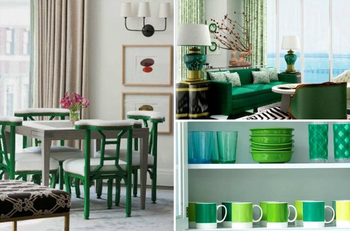 verde esmeralda decoracao casa