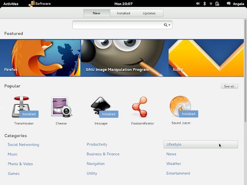 Gnome App Center